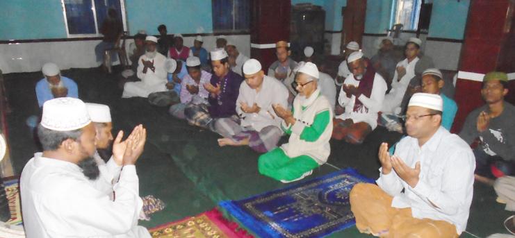 জেলা আ.লীগ নেতা এন্তাজ আলীর মৃত্যু বার্ষিকীতে দোয়া মাহফিল