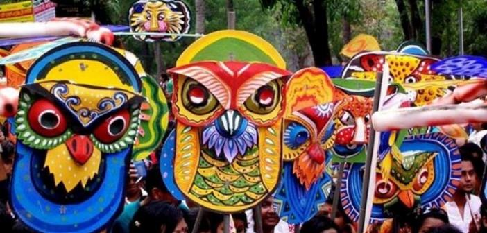 কালিগঞ্জে বর্ণাঢ্য আয়োজনে বাংলা নববর্ষ বরণ