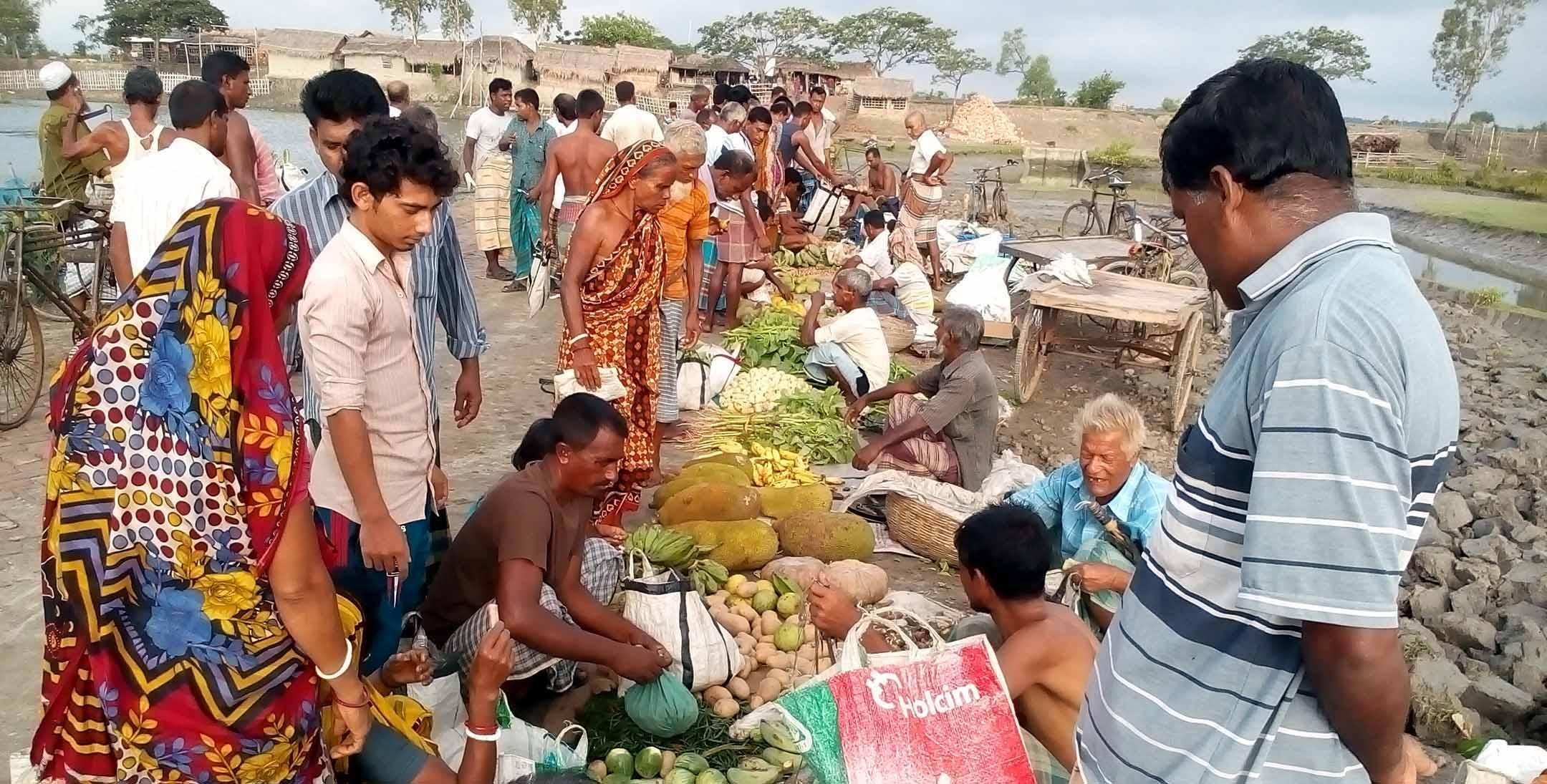 পাইকগাছায় শংকরদানা ত্রি-পল্লী হাটের উদ্বোধন