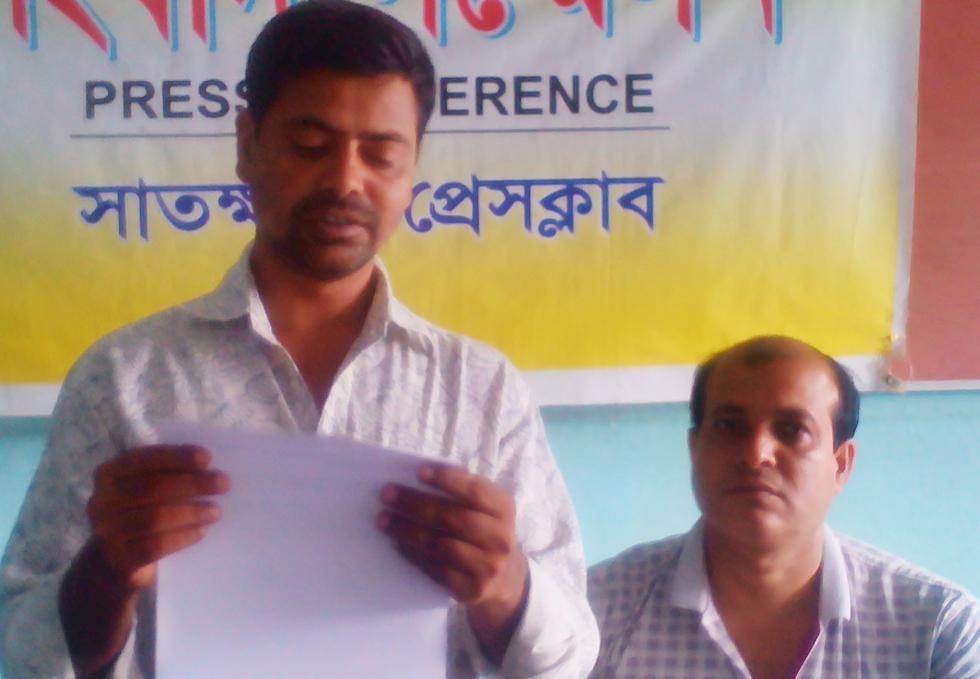 কালিগঞ্জের নলতার 'ইডা' সংস্থার নির্বাহী পরিচালকের বিরুদ্ধে খবর প্রকাশের প্রতিবাদে সংবাদ সম্মেলন