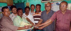 ইটাগাছা ভিআইপি শ্রমিক ইউনিয়নের নবনির্বাচিত নেতৃবৃন্দের দায়িত্বভার গ্রহণ