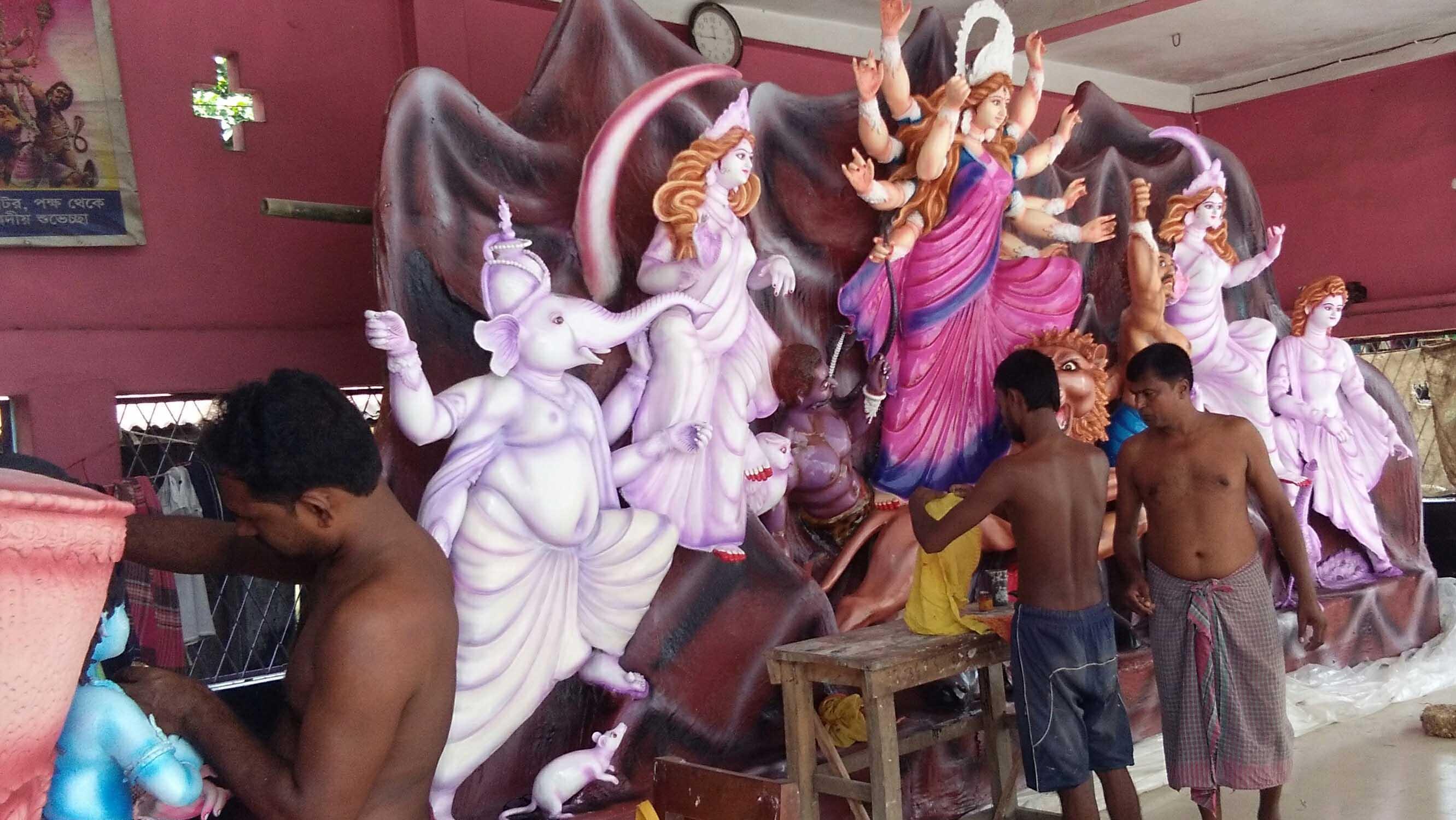 তালায় ১৭৫টি পূজা মন্ডপে হবে শারদীয় দুর্গাপূজা