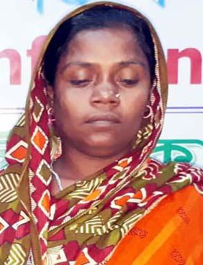 কালিগঞ্জে সংখ্যালঘু বিধবা নারীর সংবাদ সম্মেলন