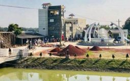 প্রশান্তি বিলাতে তুফান কনভেনশন সেন্টারে লেক ভিউ ক্যাফে'র উদ্বোধন