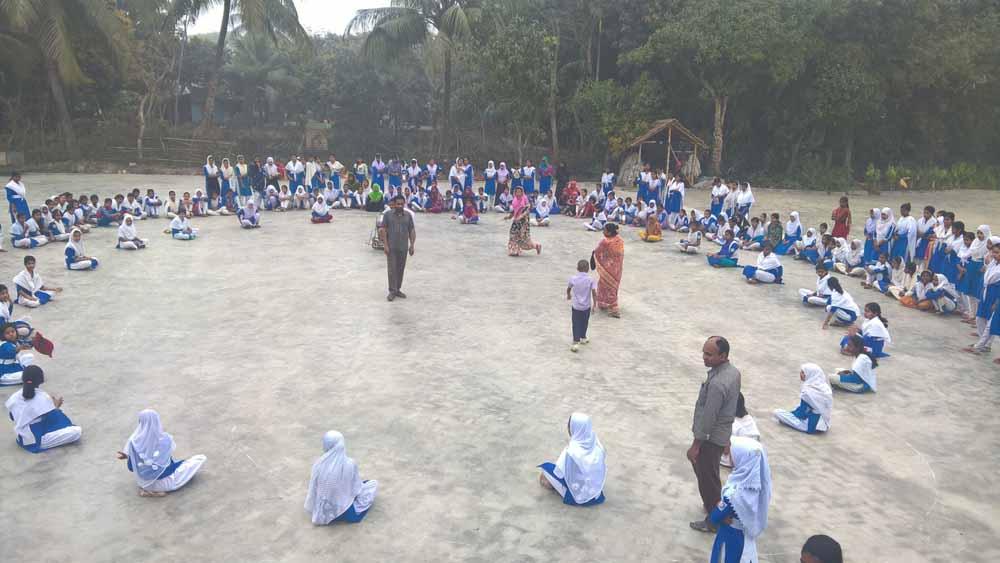 ব্রহ্মরাজপুর ডিবি গার্লস স্কুলে বার্ষিক ক্রীড়া প্রতিযোগিতা