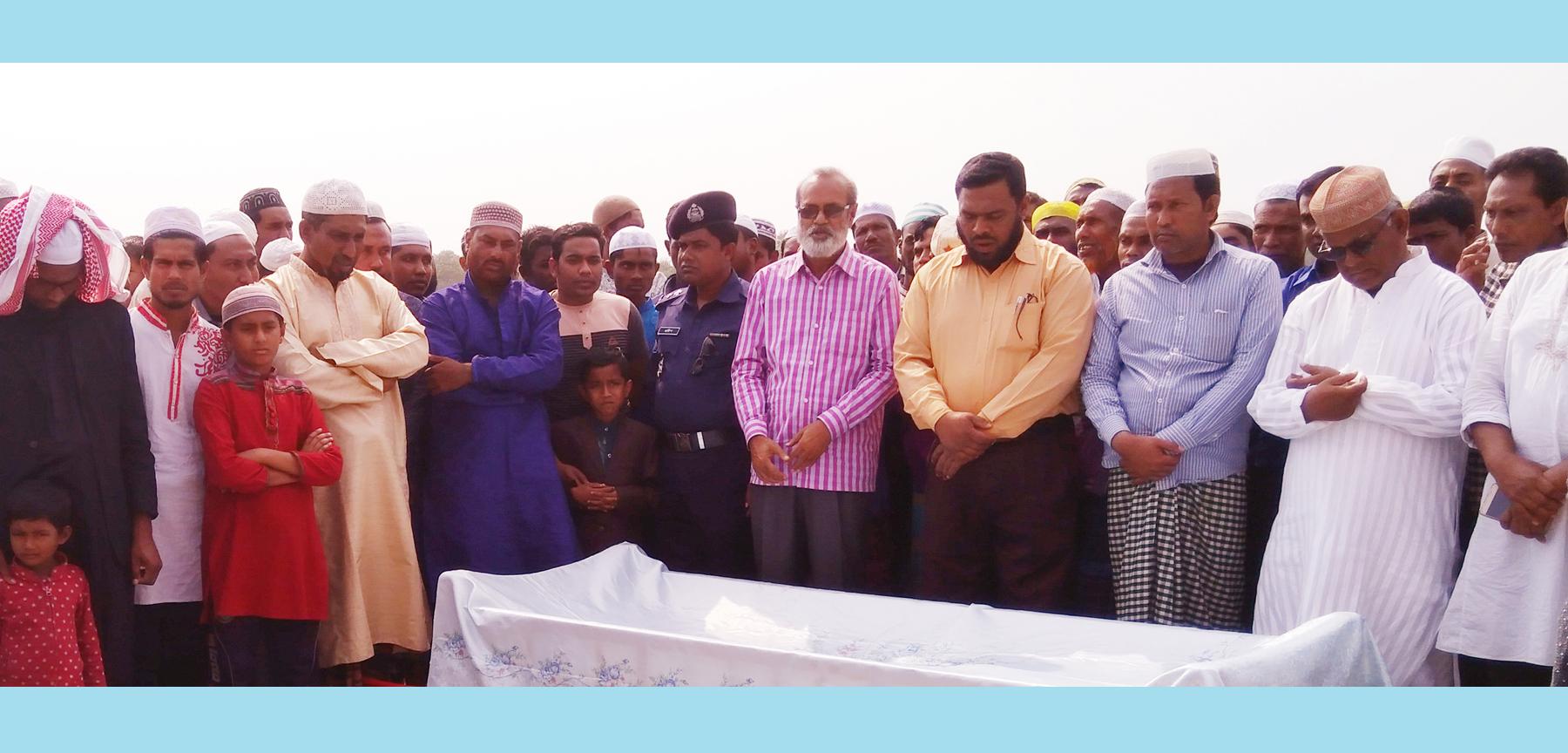 মুক্তিযোদ্ধা আব্দুল বারী গাজীর রাষ্ট্রীয় মর্যাদায় দাফন