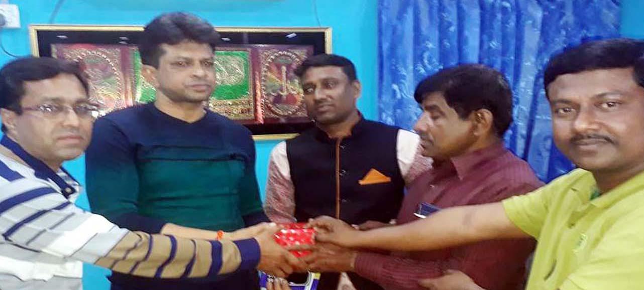 কালিগঞ্জ রিপোর্টার্স ক্লাবে ওসি সুবীর দত্ত'র মতবিনিময়