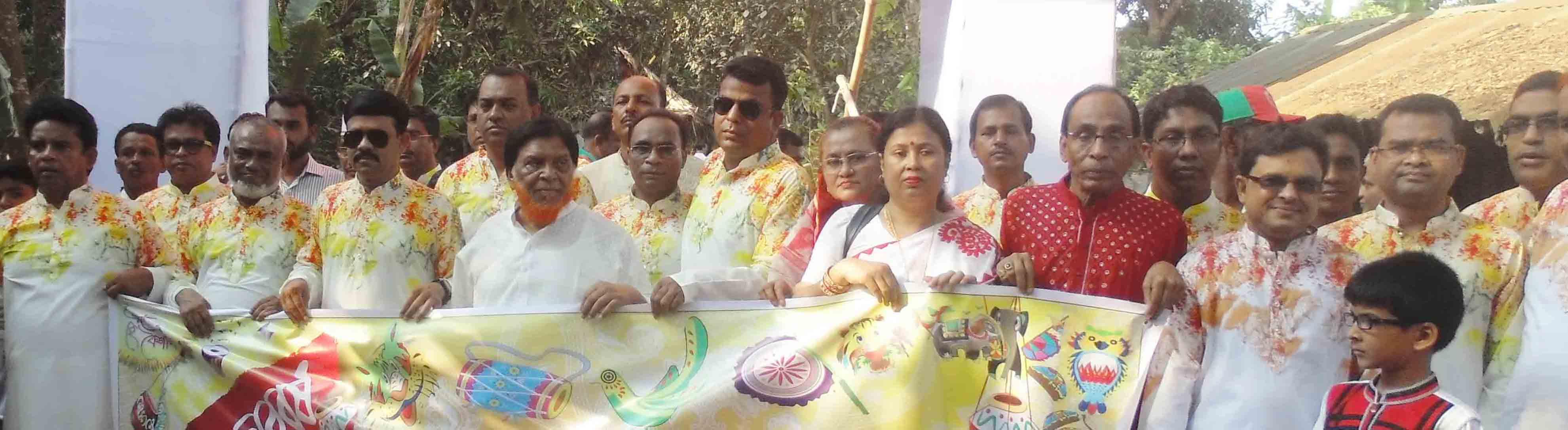 দেবহাটা উপজেলায় বিভিন্ন আয়োজনে পহেলা বৈশাখ উদযাপন
