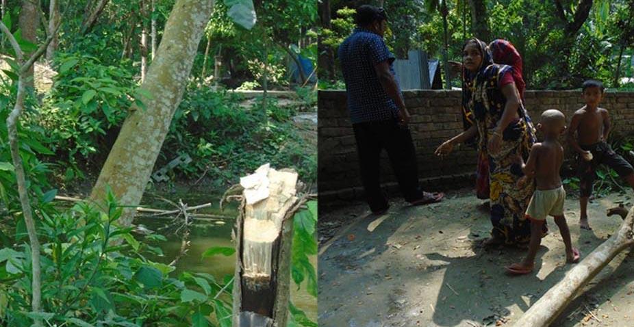 গাভা মাধ্যমিক বিদ্যালয় একাডেমিক ভবনের ছাদ ঢালাই উদ্বোধন