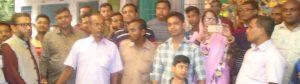 শিবপুরে পূজামন্ডপ পরিদর্শনে আসাদুজ্জামান বাবু