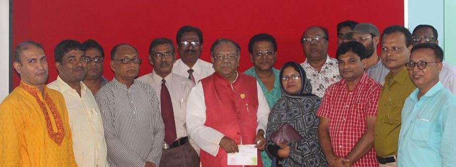 সাতক্ষীরা প্রেসক্লাবে ডা. আফম রুহুল হক এমপি বাংলাদেশের সাহসী মানুষ পরাভয় মানে না