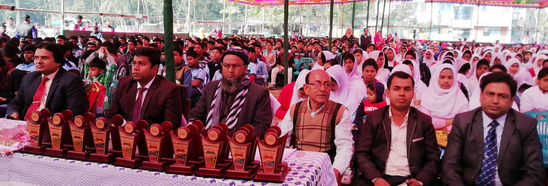 নলতার কেবি আহ্ছানউল্লা জুনিয়র হাইস্কুলে দু'দিনব্যাপি বার্ষিক অনুষ্ঠানের প্রথম দিন সম্পন্ন
