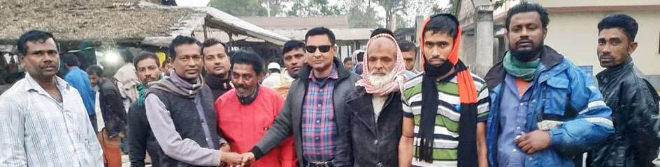 দেবহাটা উপজেলা ভাইস চেয়ারম্যান প্রার্থী মনির গণসংযোগ