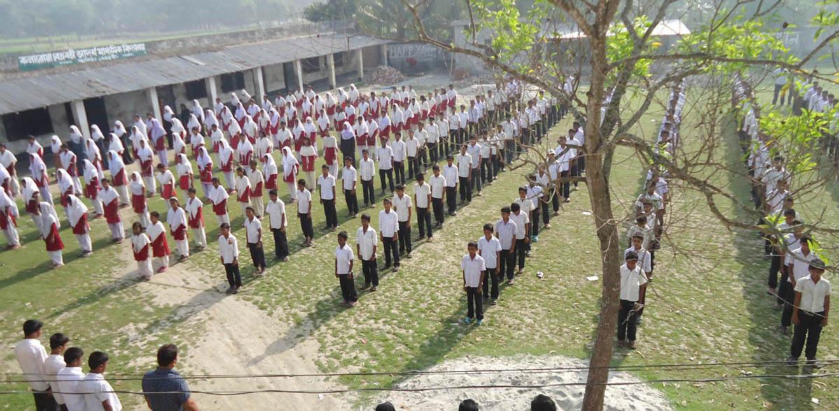 কলারোয়া বেত্রবতী আদর্শ মাধ্যমিক বিদ্যালয় প্রতিষ্ঠার দেড় যুগেও পায়নি এমপিও: হয়নি ভবন