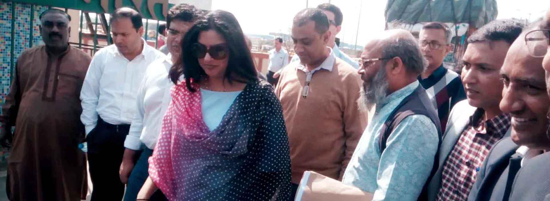 রোড এন্ড হাইওয়েসহ বিশ্ব ব্যাংকের প্রতিনিধিদলের বেনাপোল পরিদর্শন