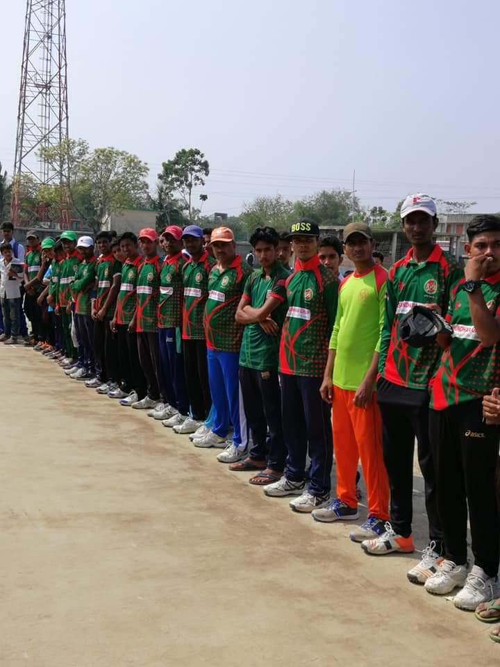 শ্যামনগরের নওয়াবেঁকীতে বঙ্গবন্ধু কাপ ক্রিকেট টুর্নামেন্টের উদ্বোধন