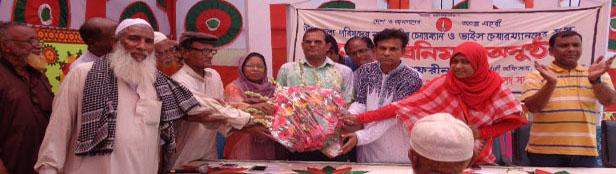 তালায় নব নির্বাচিত উপজেলা চেয়ারম্যান ও ভাইস চেয়ারম্যানদেরকে সংবর্ধনা