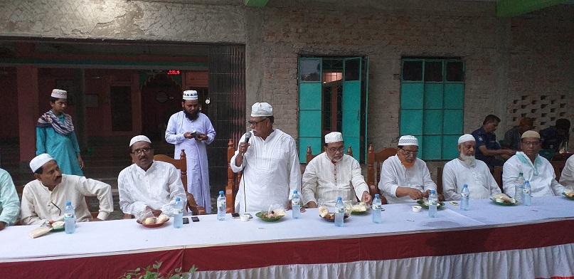শাখরা কোমরপুর খানা বাটি জামে মসজিদের ইফতারে রাজনৈতিক নেতৃবৃন্দের মিলনমেলা