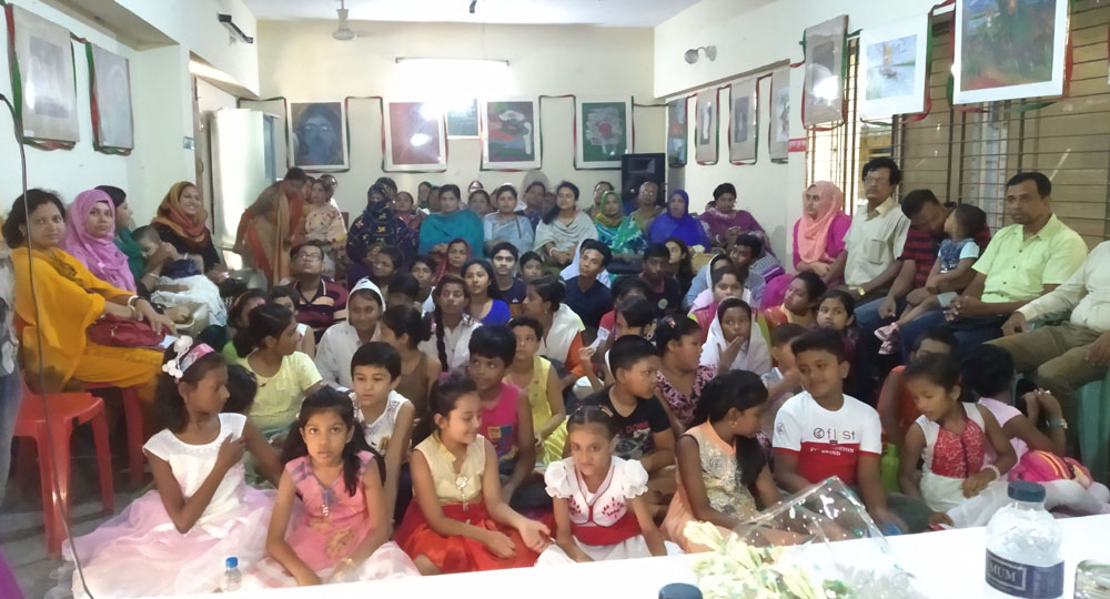 বর্ণমালা ও অধীতি'র ৪দিন ব্যাপী আবৃত্তি কর্মশালা উদ্বোধন