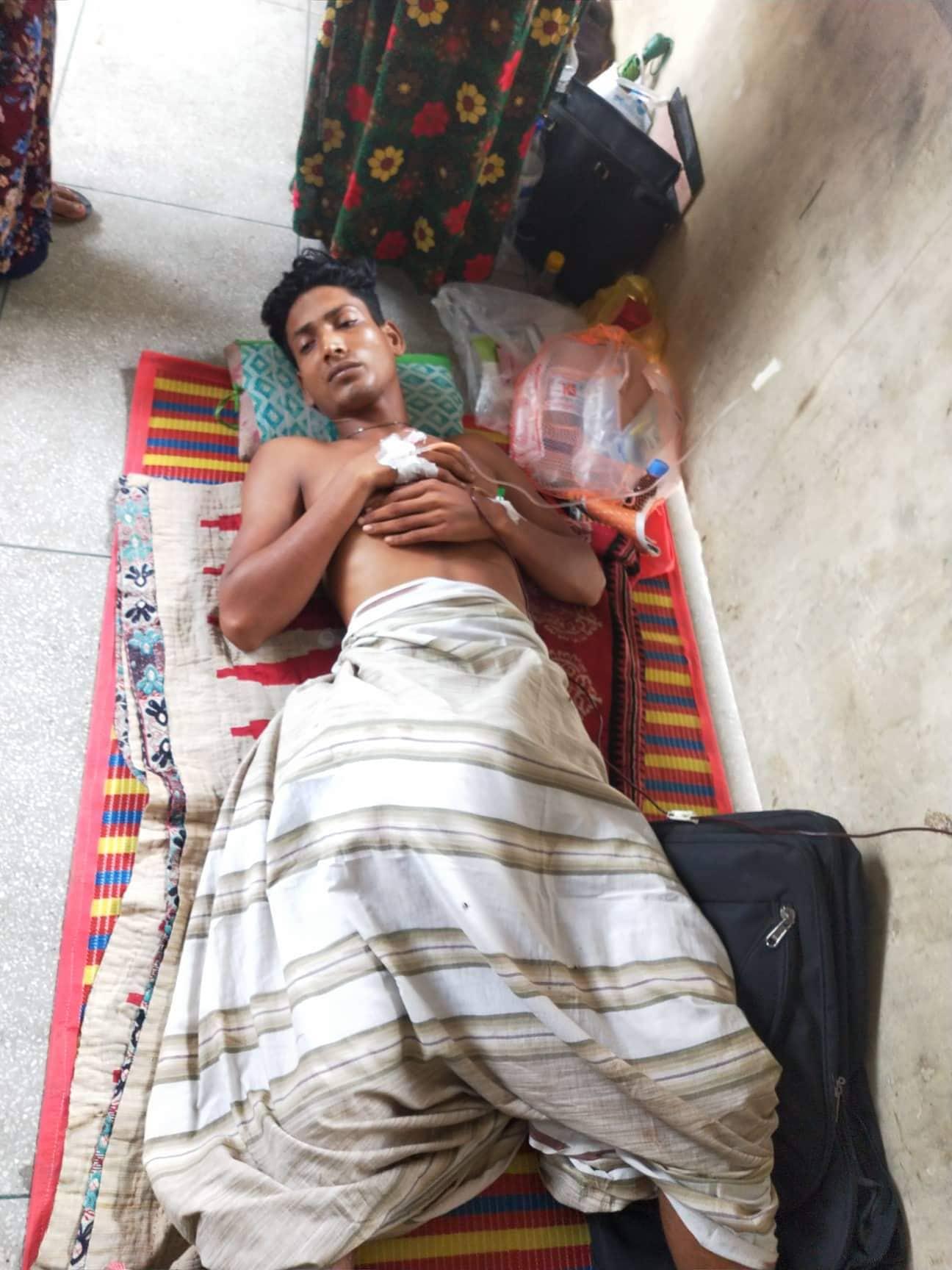 হাড়দ্দহ সীমান্তে বিএসএফ'র গুলিতে বাংলাদেশী গরু রাখাল আহত!