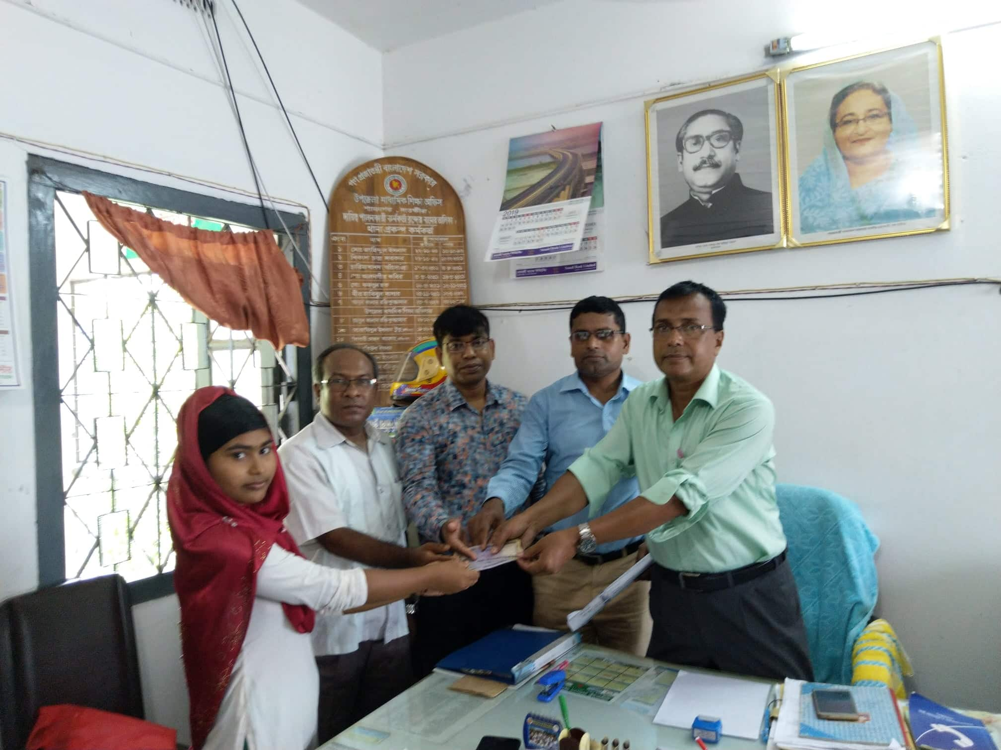 শ্যামনগরে ভাব বাংলাদেশের শিক্ষা বৃত্তি ও শিক্ষকদের সম্মানী প্রদান