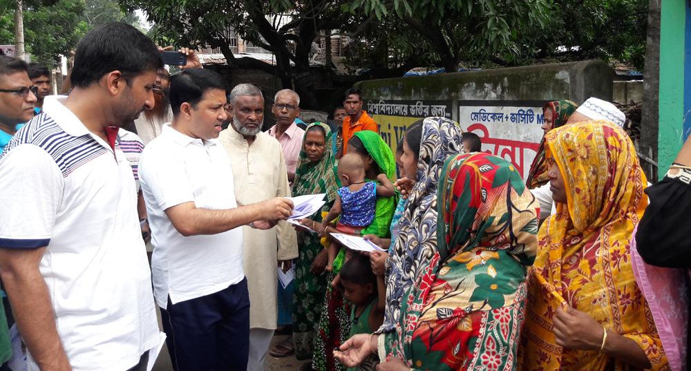জেলা প্রশাসকের নেতৃত্বে ডেঙ্গু বিরোধী অভিযান অব্যাহত