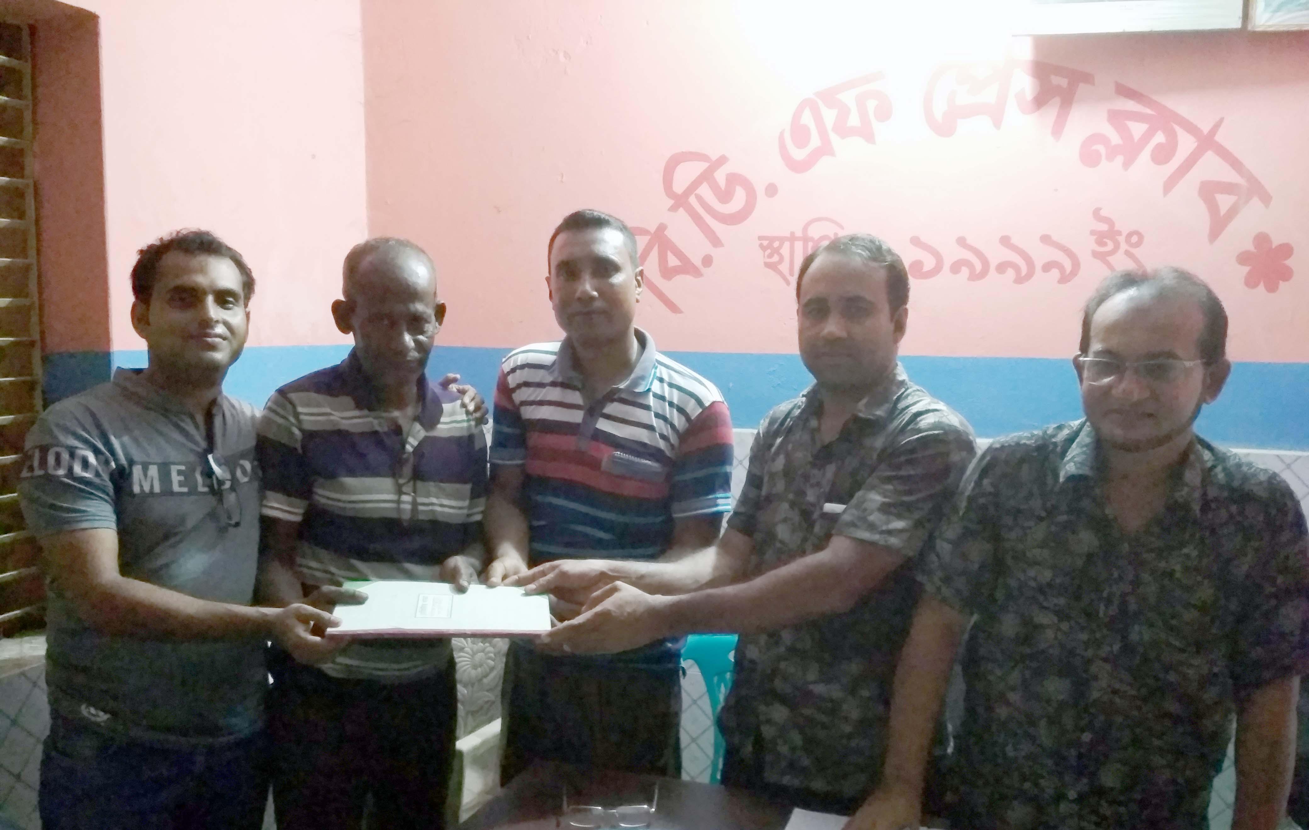 বিডিএফ প্রেসক্লাবে দ্বি-বার্ষিক সাধারণ সভা অনুষ্ঠিত: আহবায়ক কমিটি গঠন