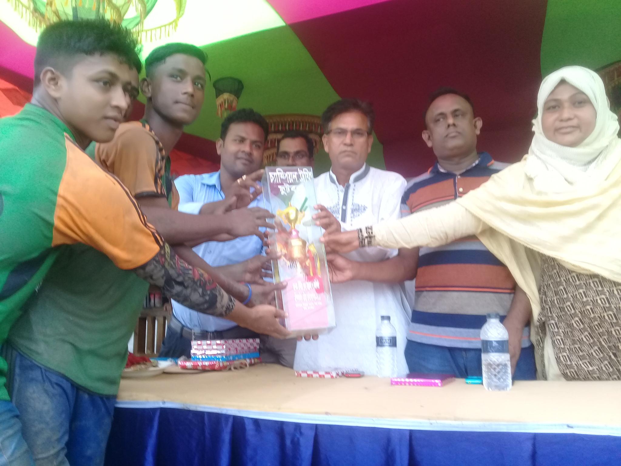 তালা উপজেলায় আন্ত:ফুটবল টুর্নামেন্টে কুমিরা বহুমুখী মাধ্যমিক বিদ্যালয় চ্যাম্পিয়ন