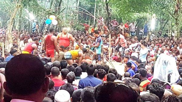 তালায় ৮দলীয় হা-ডু-ডু প্রতিযোগিতায় প্রতাপকাটি চ্যাম্পিয়ন