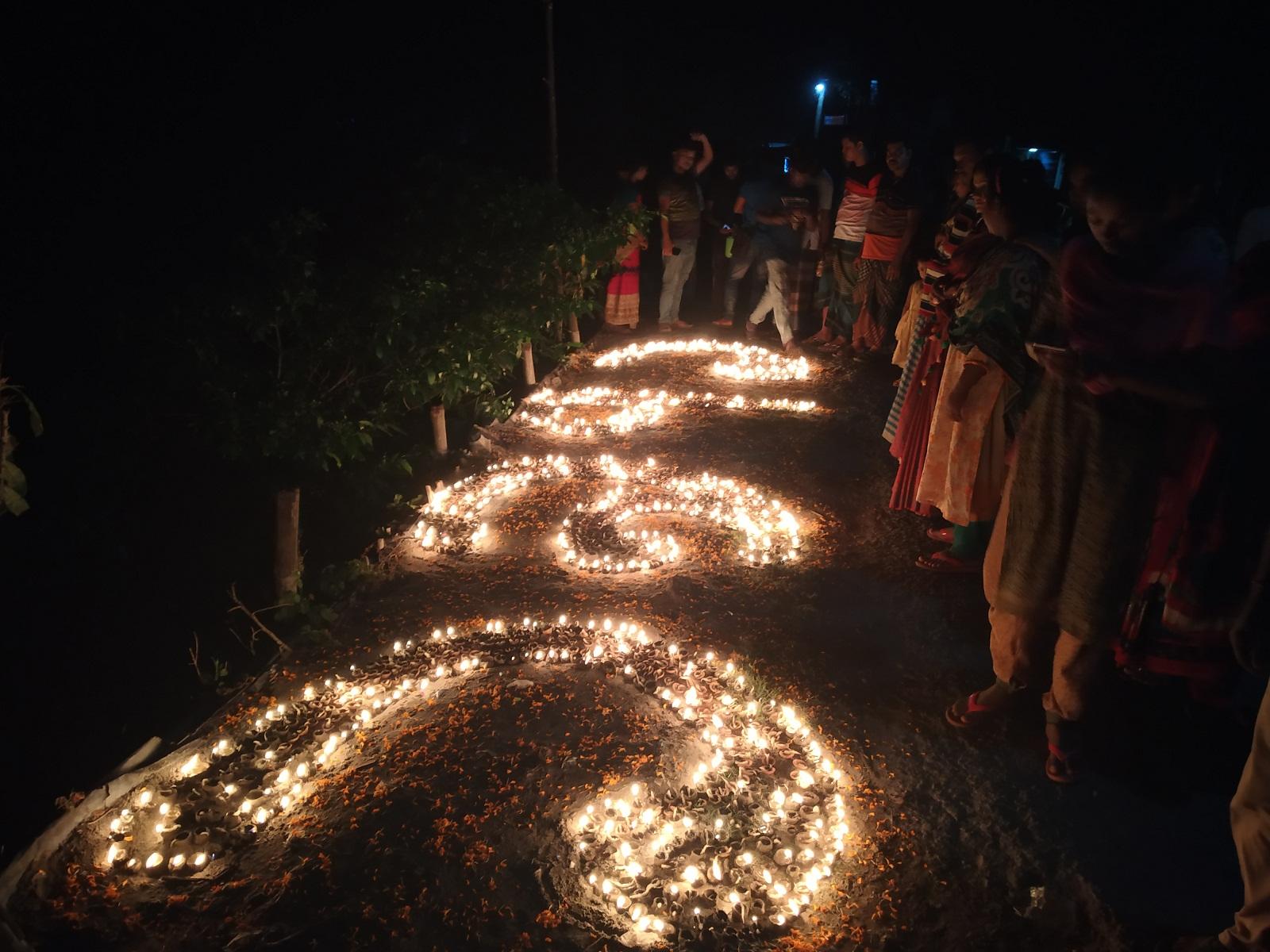 শ্যামা কালী পূজায় ৭১' শহীদদের স্মরণ