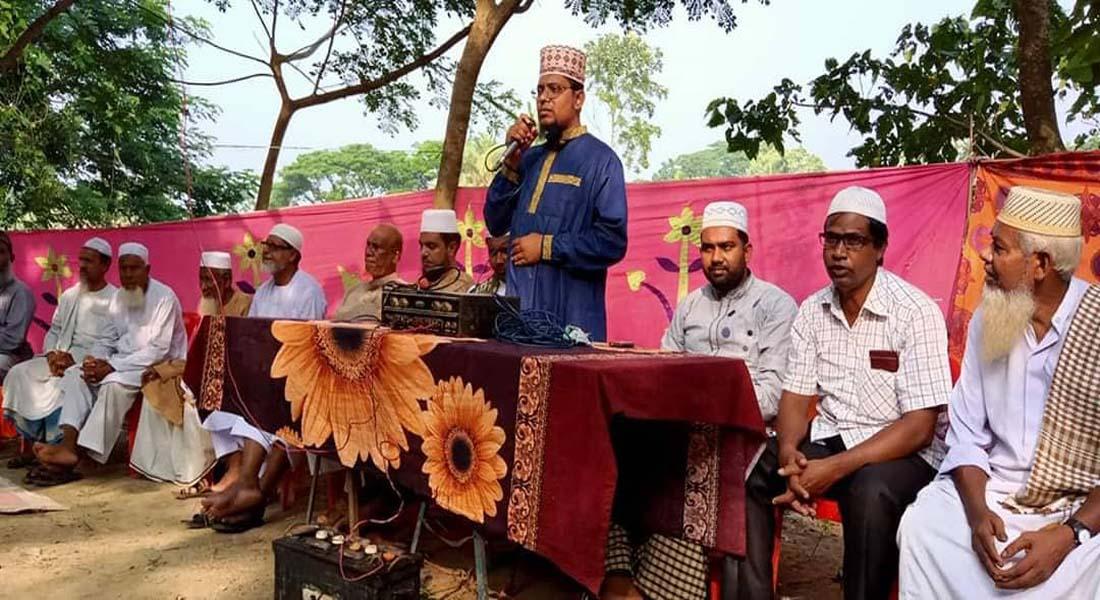 কলারোয়ায় প্রয়াত শিক্ষক শেখ আব্দুল আলীর মাগফিরাত কামনায় দোয়া