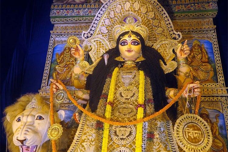 কালিগঞ্জের ধলবাড়িয়ায় শ্রীশ্রী জগদ্ধাত্রী পূজা উপলক্ষে সাতদিনব্যাপী অনুষ্ঠান